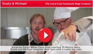 The Coca Cola Dusty and Michael Campaign