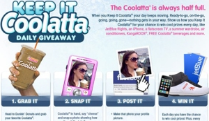 The Dunkin' Donuts Coolatta Campaign